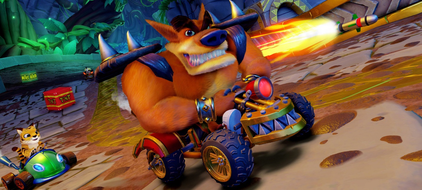 UK-Чарт: Crash Team Racing Nitro-Fueled вновь лидирует