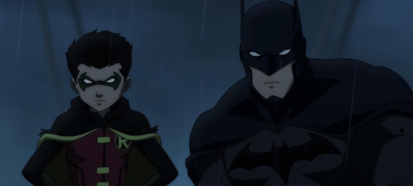 Концепт-арты отмененной игры про сына Бэтмена