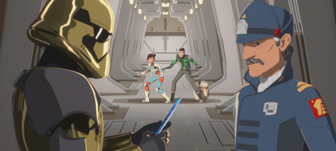 Кайло Рен в трейлере второго сезона Star Wars: Resistance