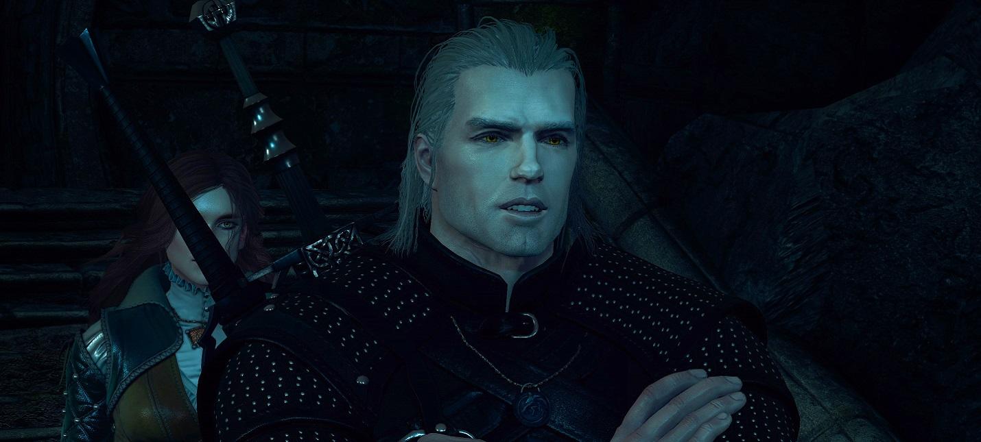 Этот мод для The Witcher 3 делает Геральта похожим на Генри Кавилла