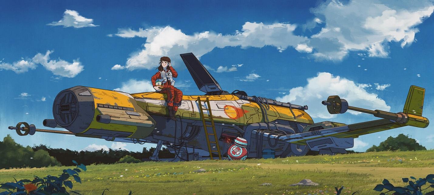 """Как бы выглядел мультфильм по """"Звездным войнам"""" от студии Ghibli"""