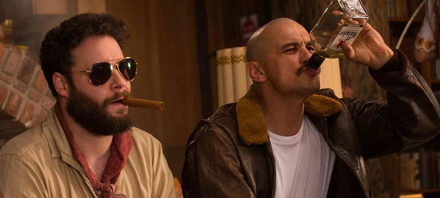 """Лысый Джеймс Франко и Голливуд 60-х годов в трейлере комедии """"Зеровилль"""""""