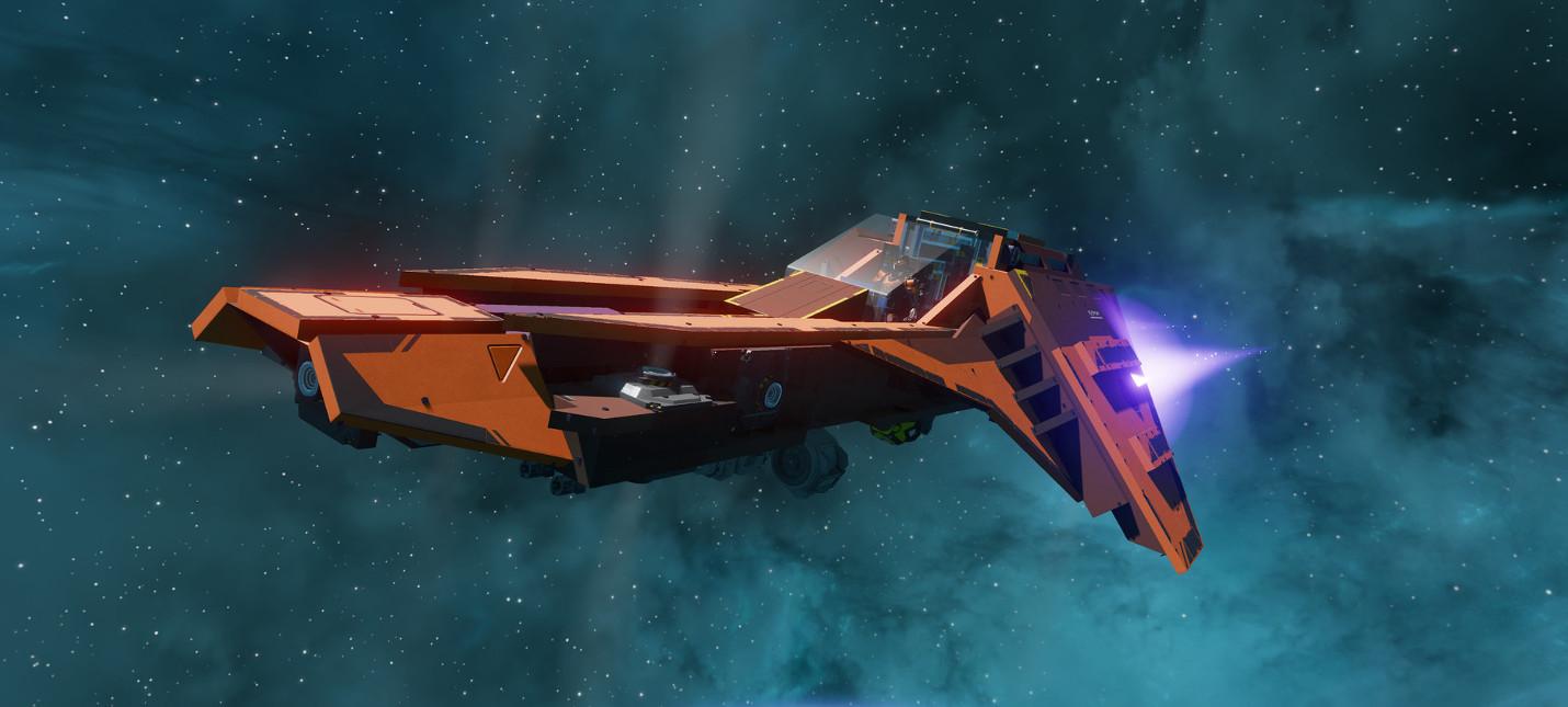 15 минут геймплея космической песочницы Starbase