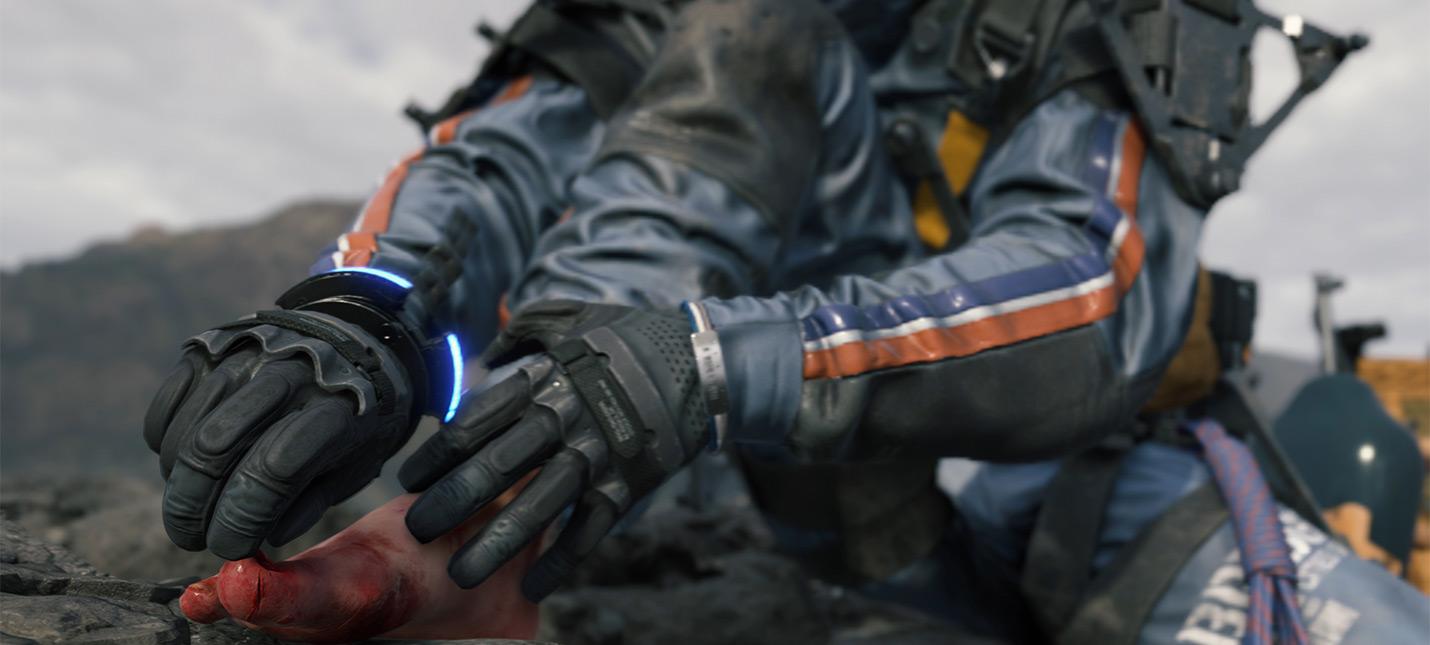 Gamescom 2019: Хидео Кодзима показал, как писает главный герой Death Stranding