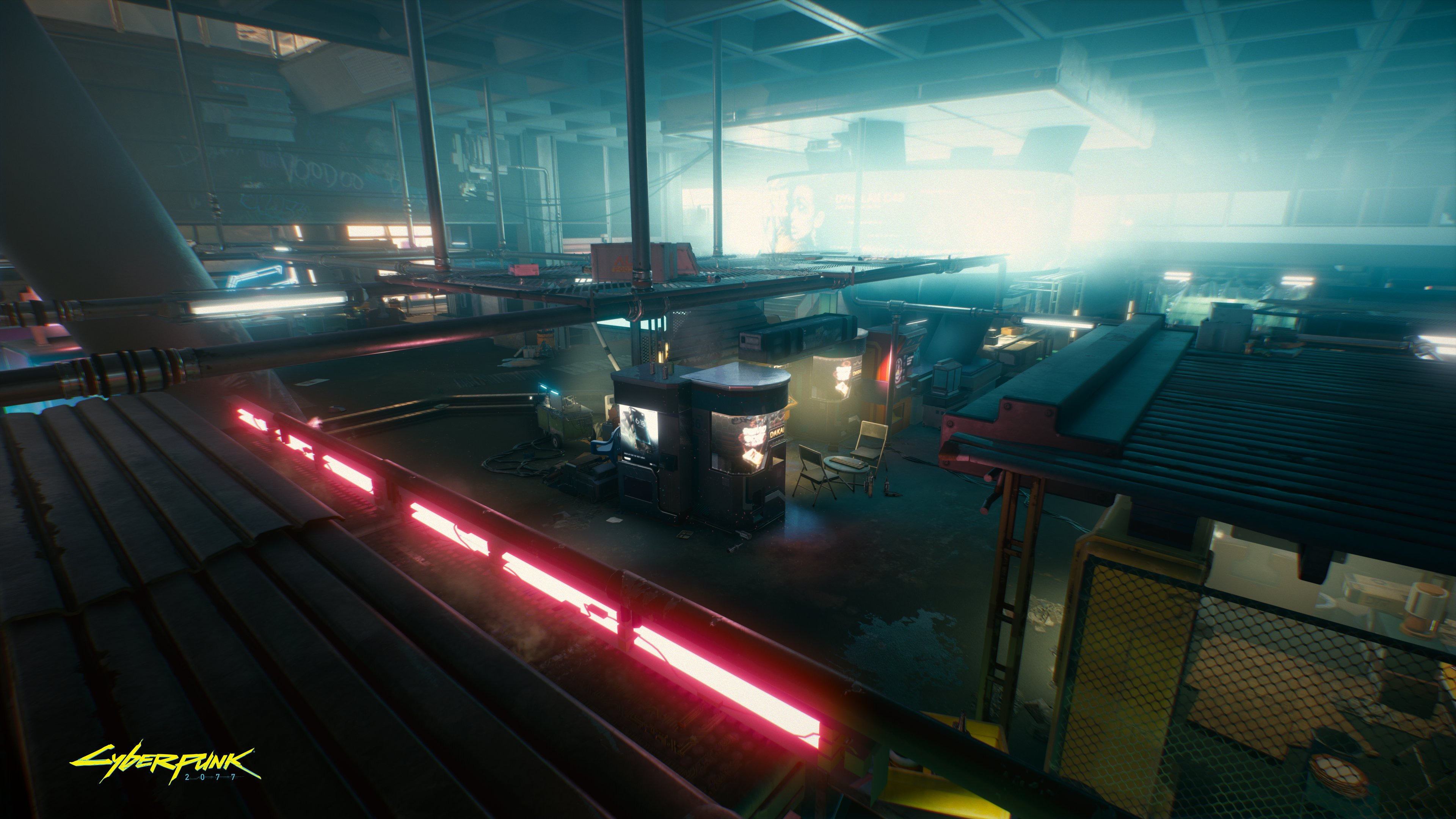 Байк и машина Ви на новых скриншотах Cyberpunk 2077