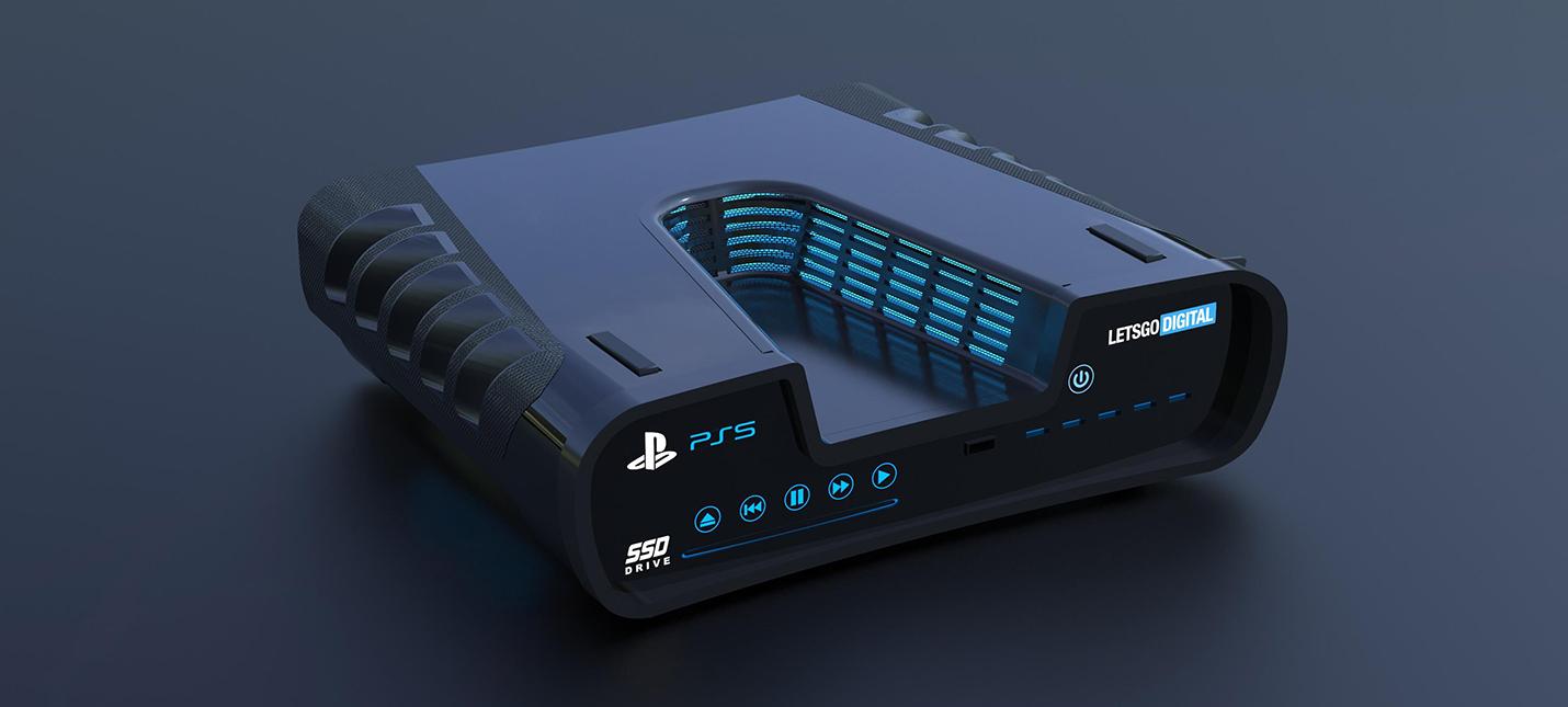 Кто-то сделал 3D-модель дев-кита PS5 на основе изображений патента