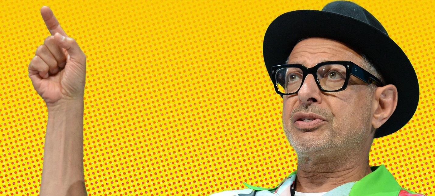 D23: Джефф Голдблюм познает мир в трейлере шоу The World According to Jeff Goldblum