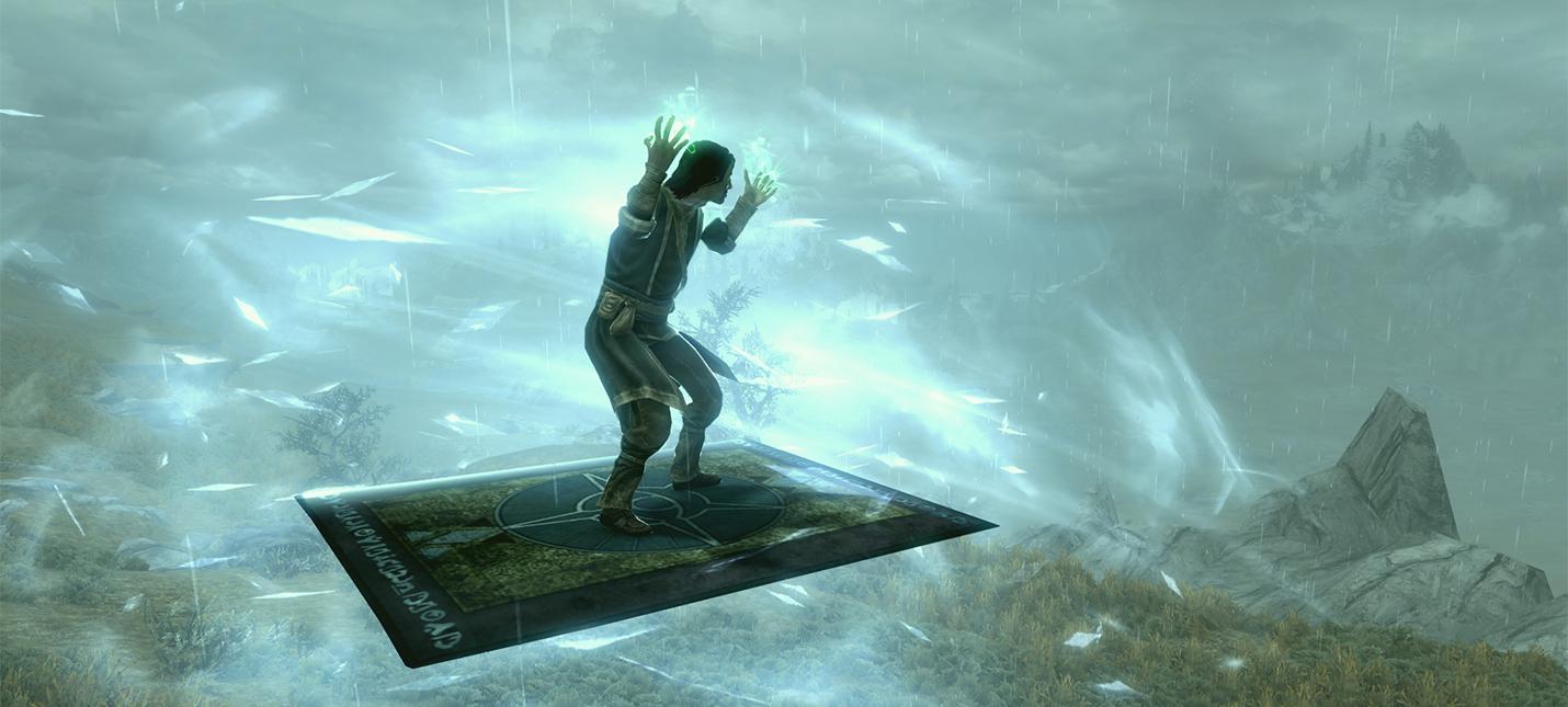 Новые моды Skyrim позволяют летать на магических коврах и крафтить почти все что угодно
