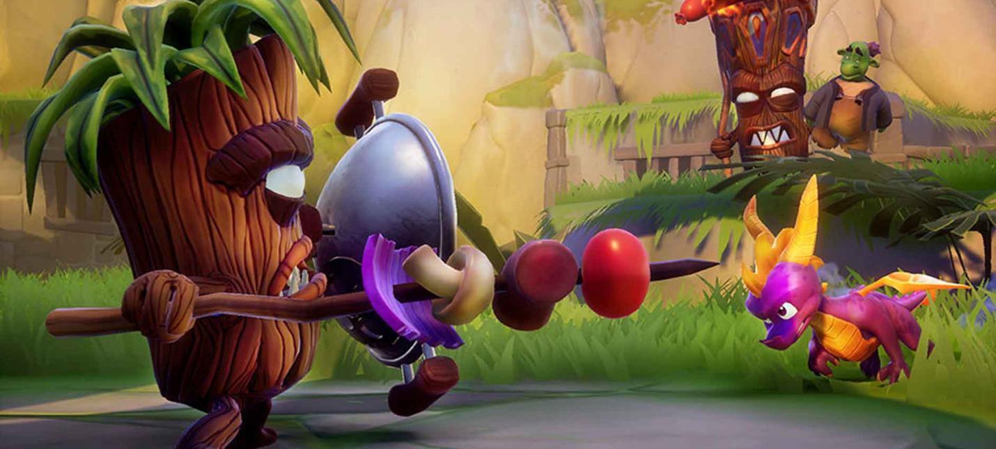 Релизный трейлер Spyro Reignited Trilogy для PC и Switch