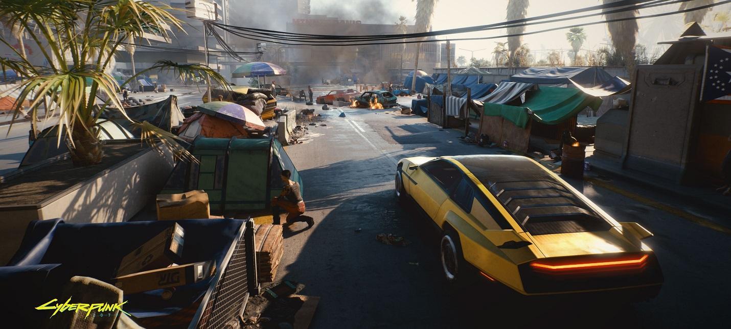 Умные противники, локации под землей и другие детали Cyberpunk 2077