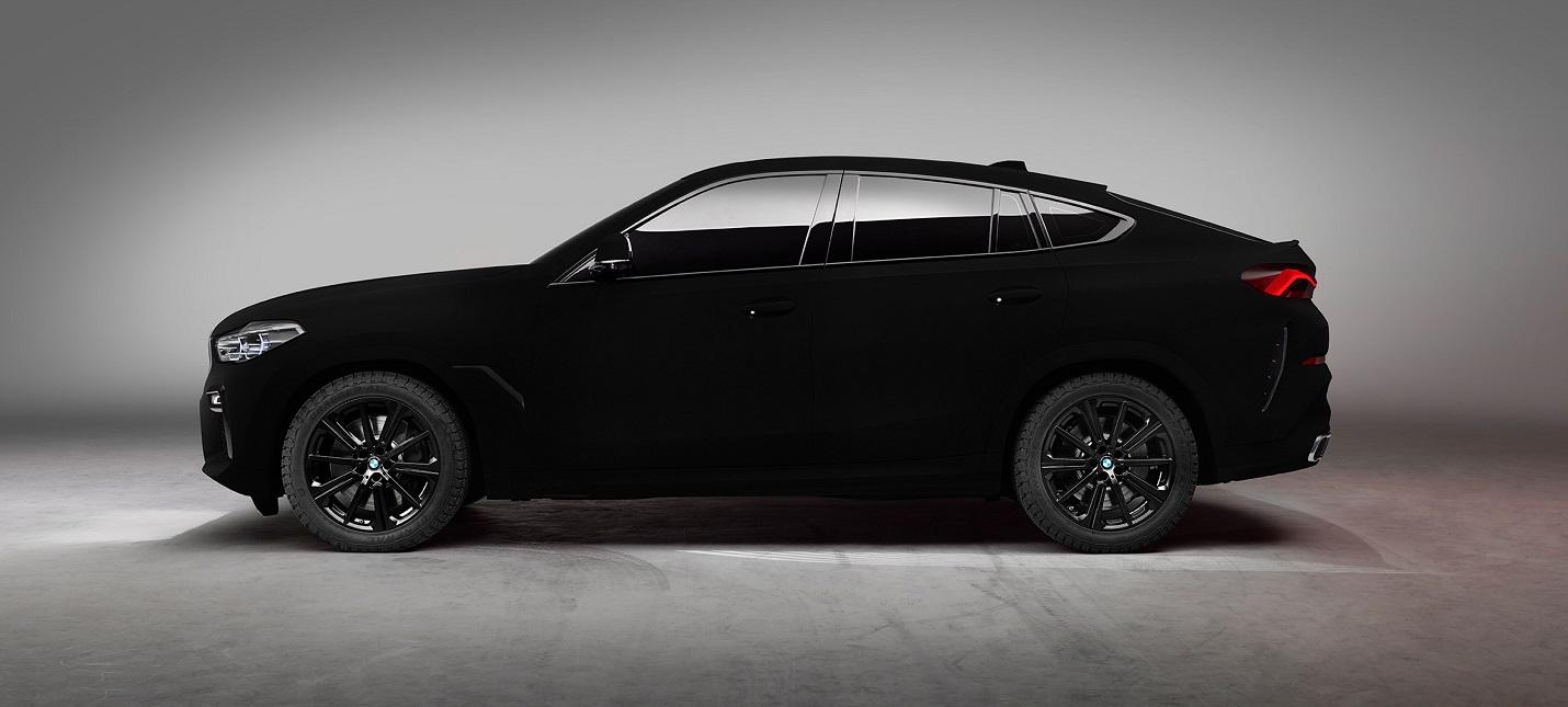BMW покрыла новый X6 самым черным веществом в мире — Vantablack