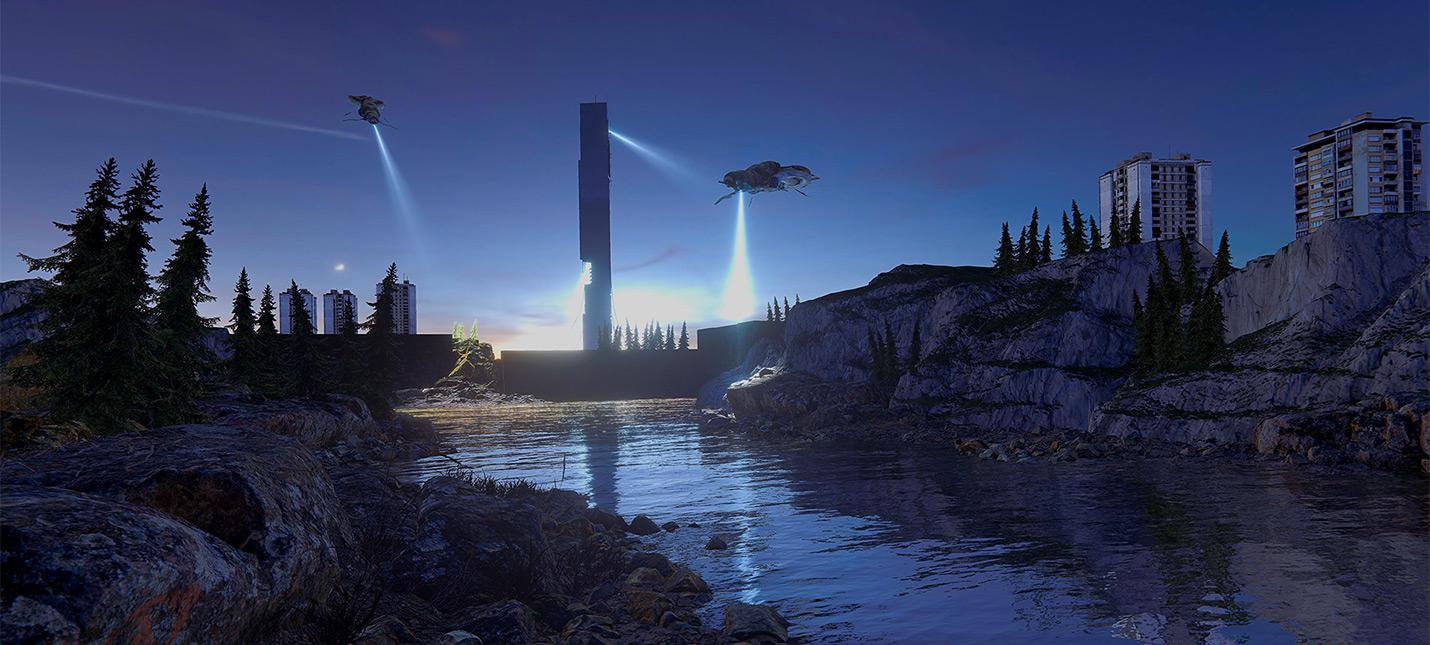 Художник изобразил водный уровень из Half-Life 2 на движке Unity