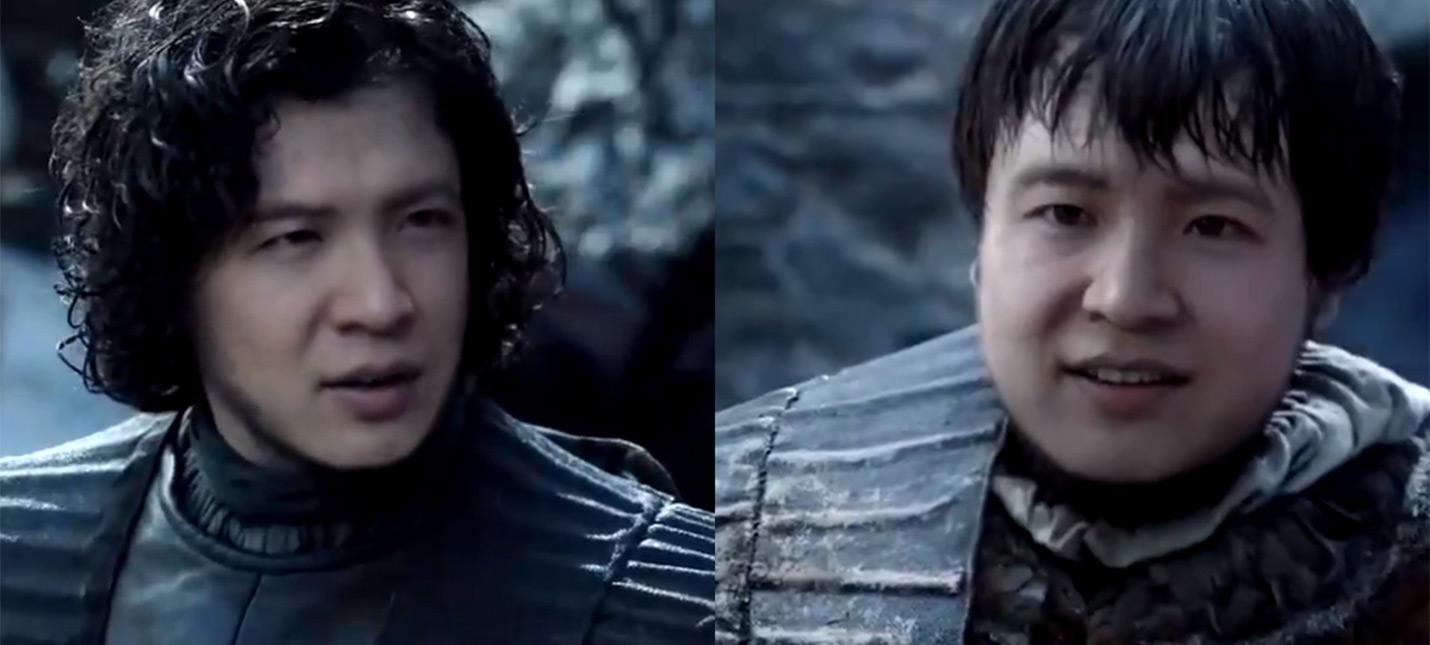 Китайское дипфейк-приложение заменяет лица западных актеров в кино и сериалах на азиатов