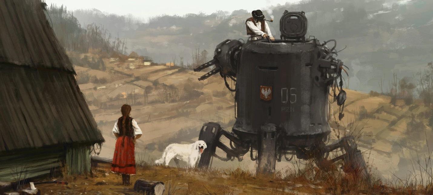 Якуб Розальски: безумие Первой мировой вдохновило меня на мир Iron Harvest