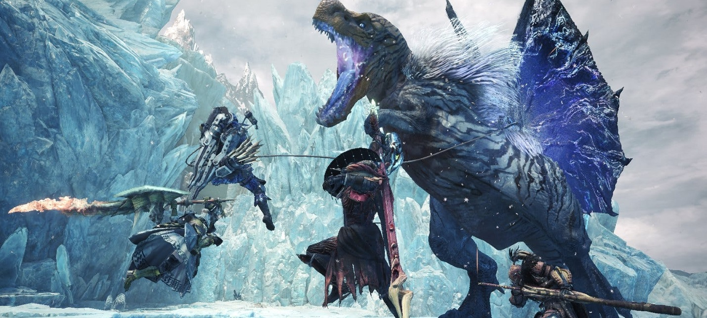 Гайд Monster Hunter World — как подготовиться к Iceborne