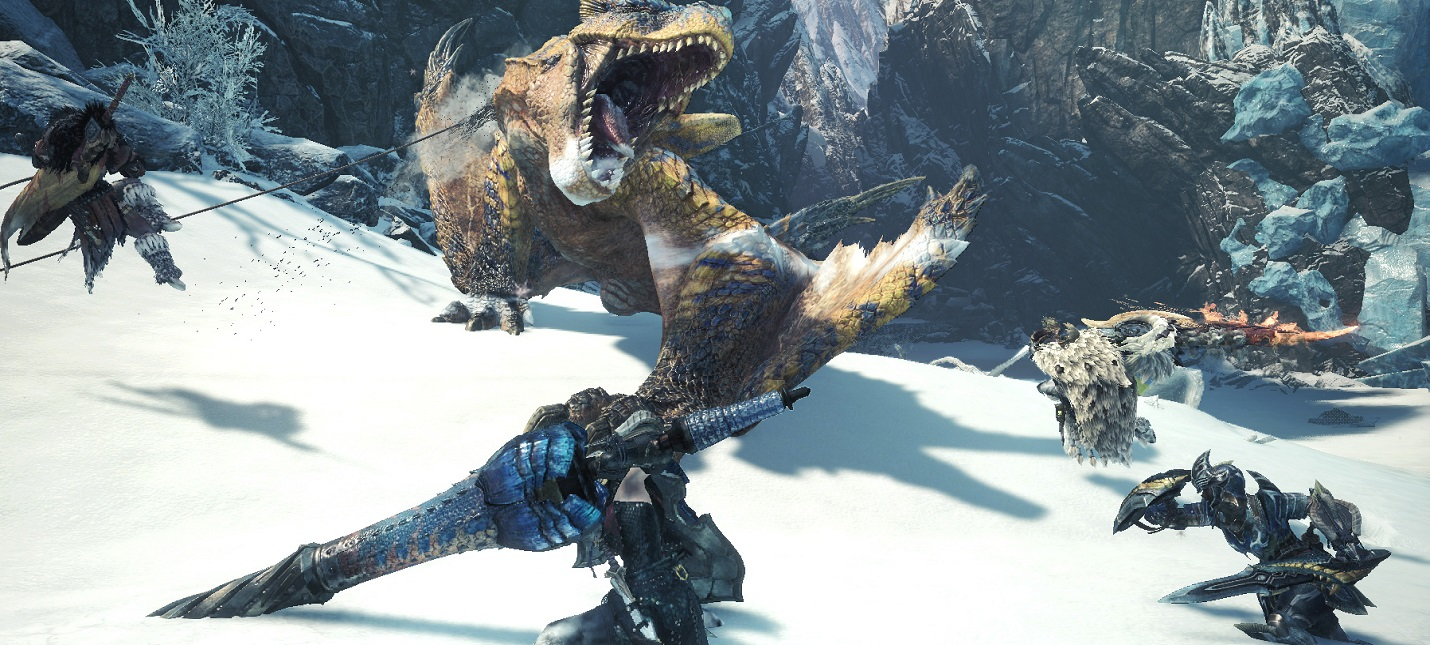 "Гайд Monster Hunter World: Iceborne — оружие с наивысшим ""чистым"" уроном"