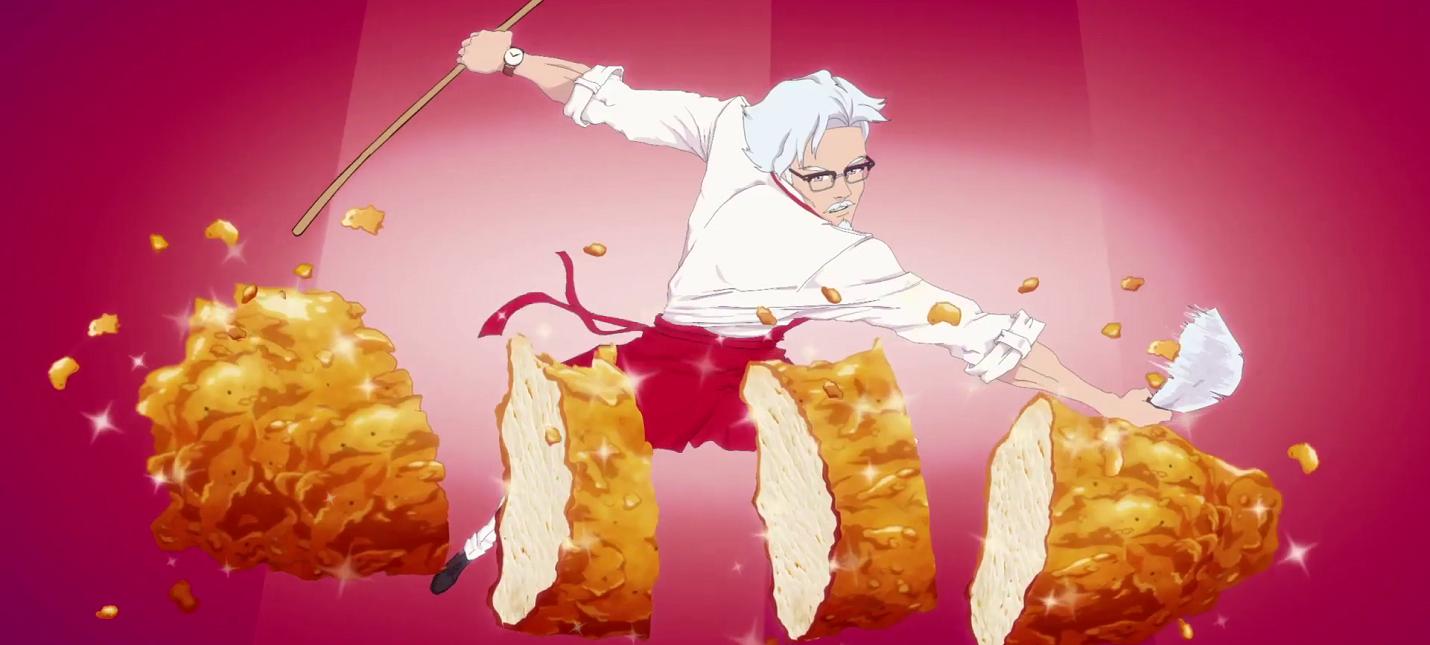 KFC анонсировало симулятор свиданий с Полковником Сандерсом