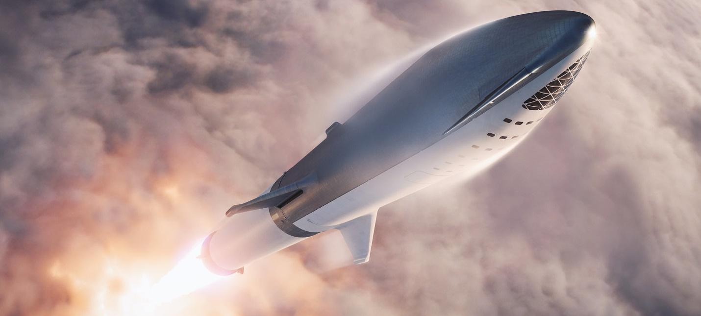 Ракета SpaceX Starship готова к испытательному полету