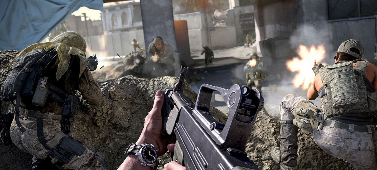 В бете Call of Duty: Modern Warfare все-таки появилась мини-карта