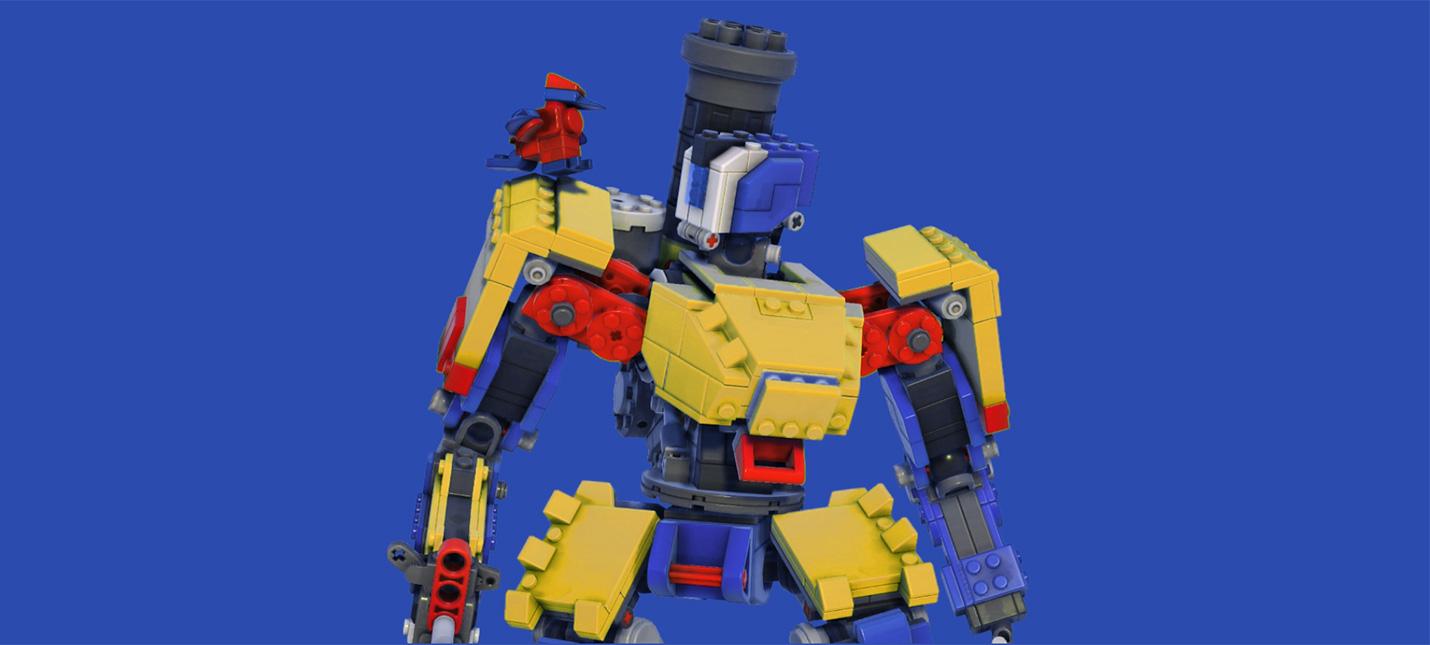 В Overwatch стартовал первый Lego-ивент с Бастионом