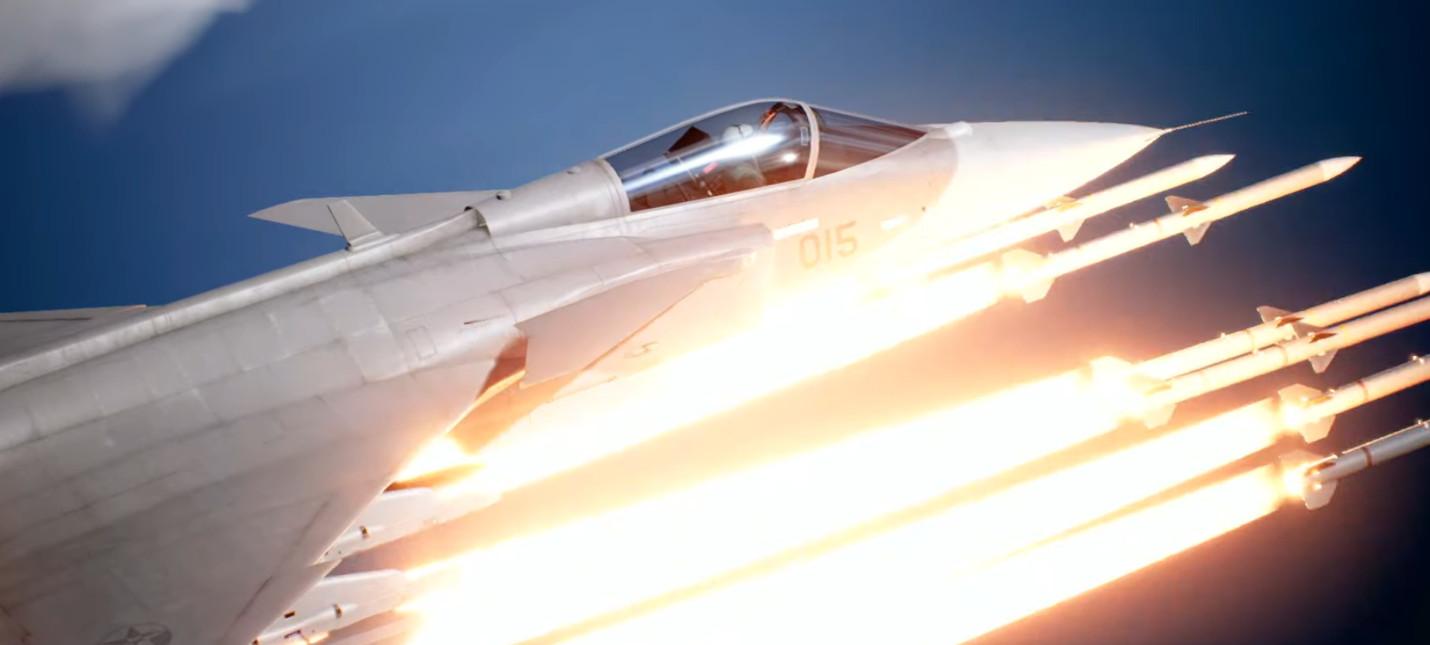 Трейлер и дата выхода первого сюжетного DLC для Ace Combat 7