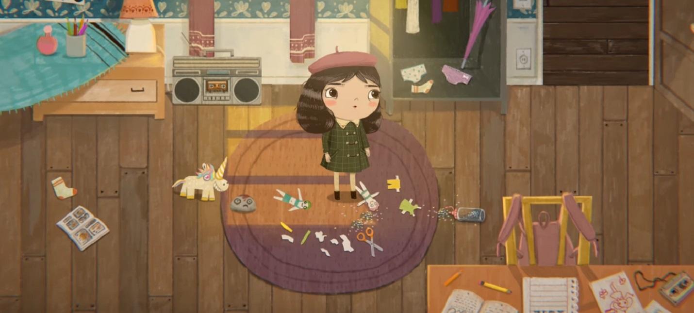 Состоялся релиз милой игры Little Misfortune про маленькую девочку и голос в ее голове
