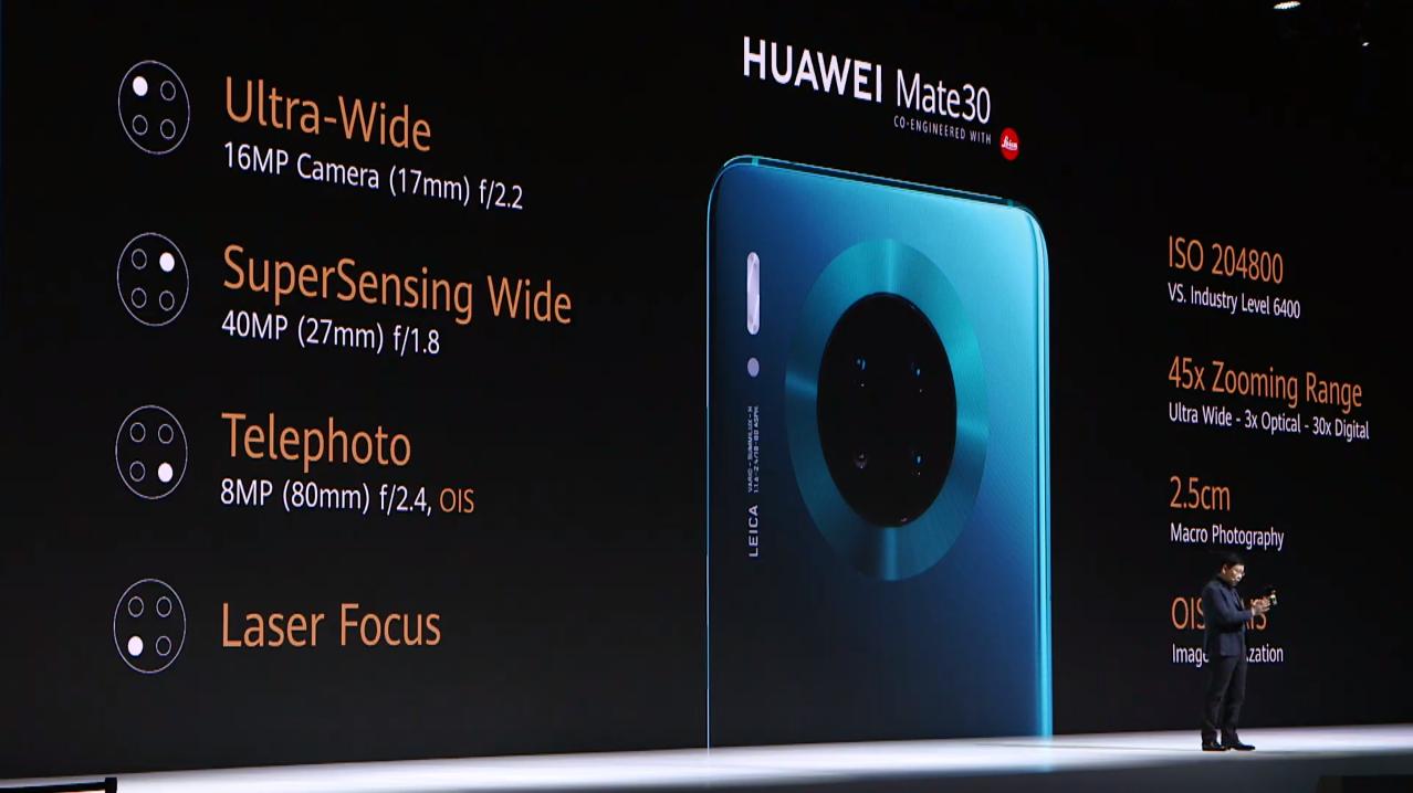Huawei официально представила флагманы Mate 30 и Mate 30 Pro