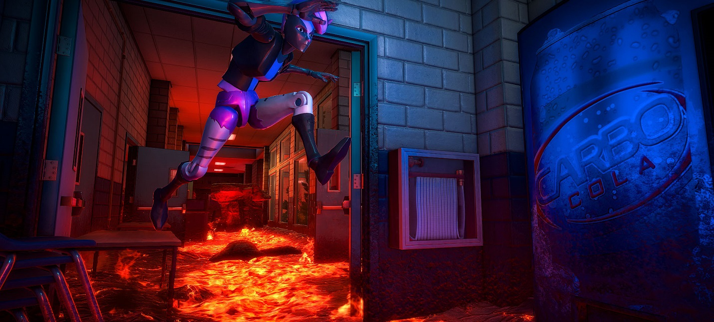 Релизный трейлер игры Hot Lava, в которой пол — это лава