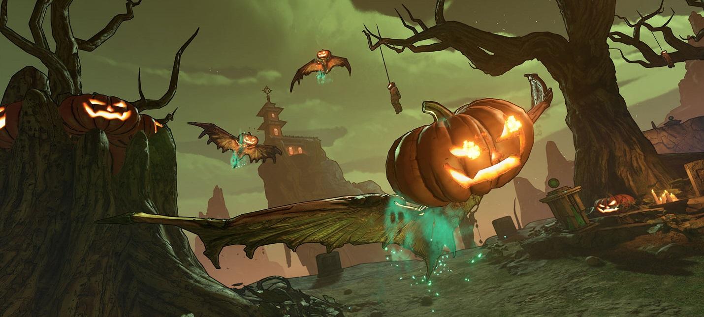 Gearbox анонсировала хэллоуинское событие для Borderlands 3