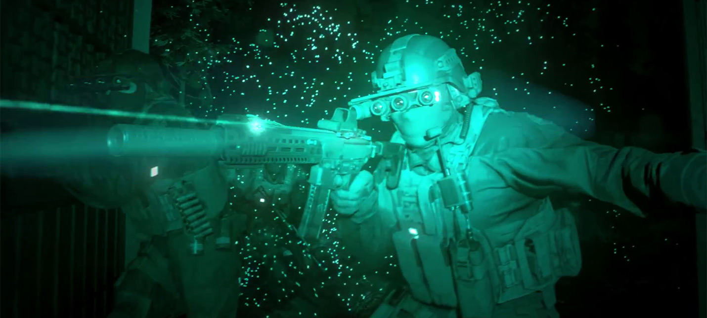 Утечка: Трейлер кампании Call of Duty: Modern Warfare