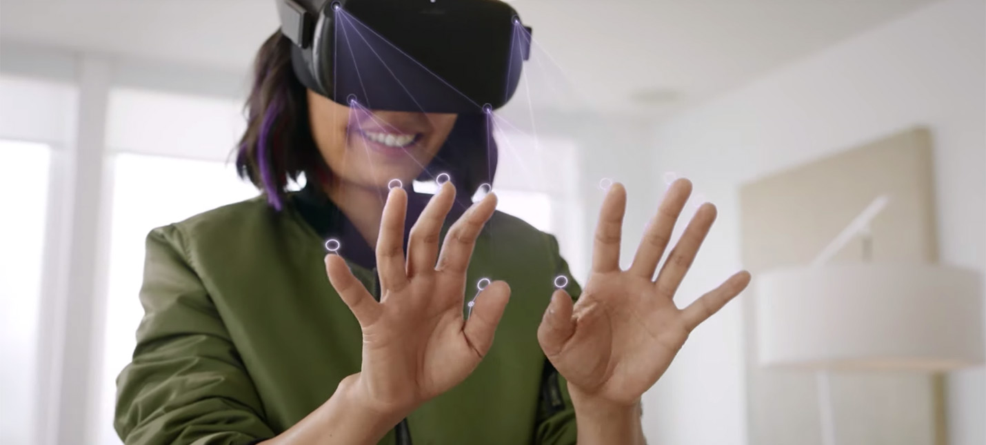 Девайс Oculus Quest получит отслеживание рук и пальцев без контроллеров