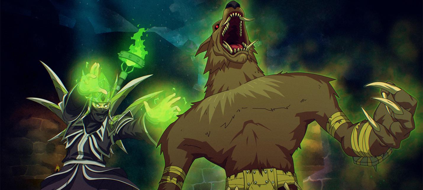 Игрок World of Warcraft Classic изображает квесты в виде сцен комиксов