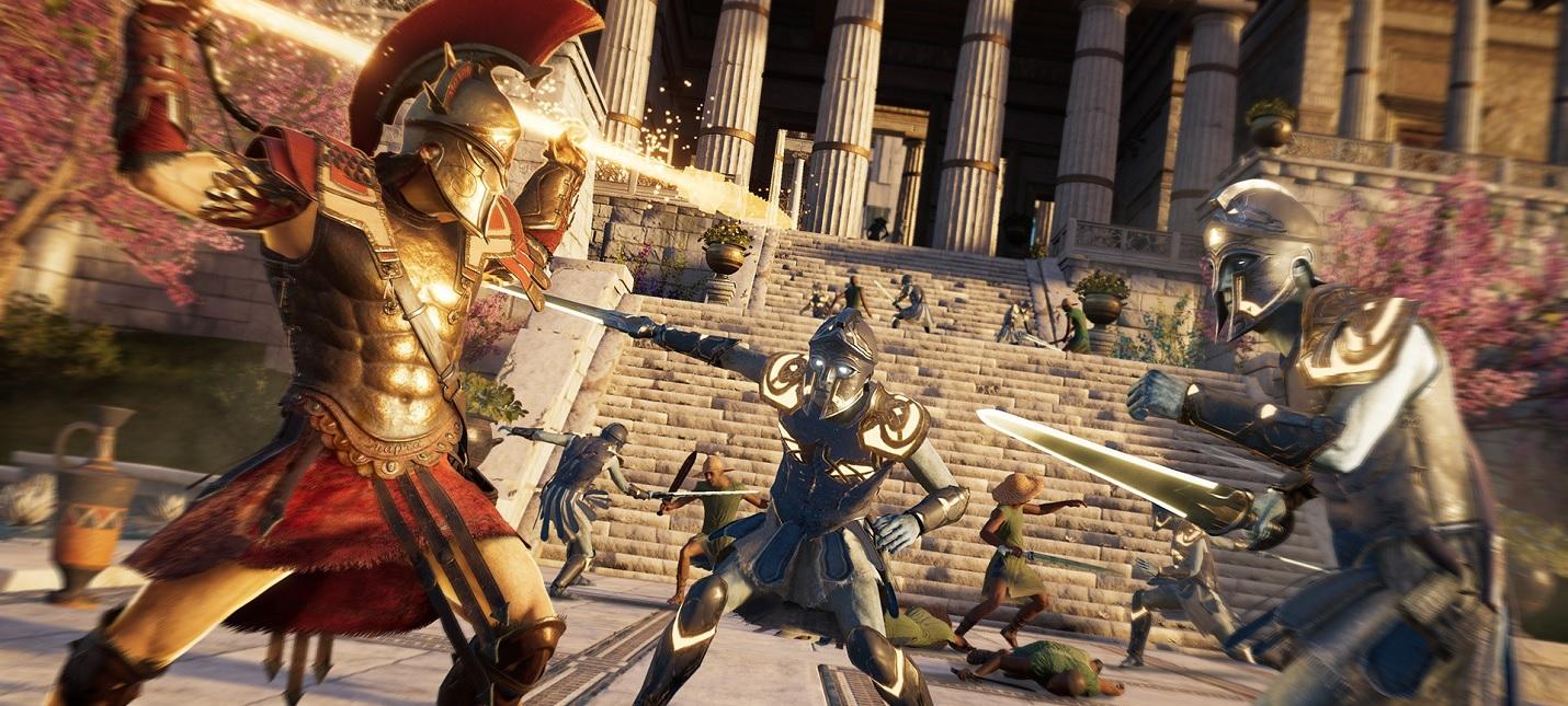 Ubisoft поделилась юбилейной статистикой игроков Assassin's Creed Odyssey