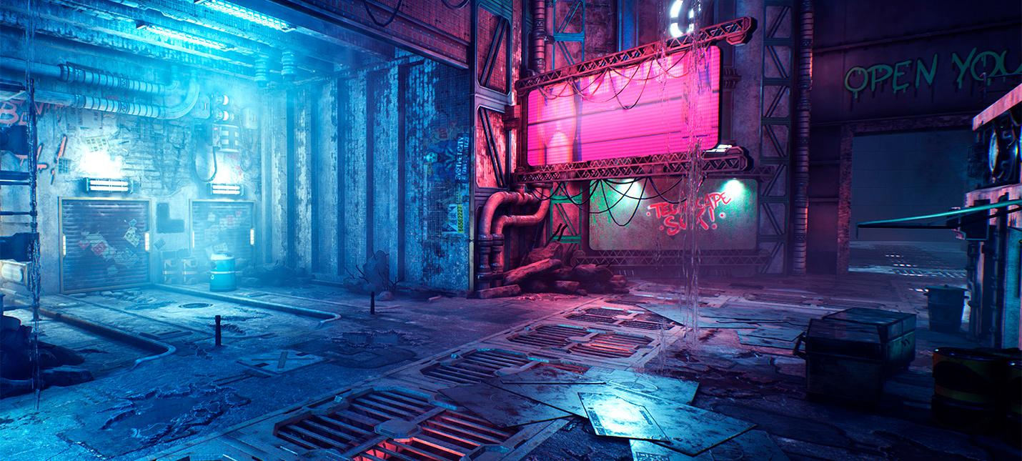 Ghostrunner будет использовать трассировку лучей для отражений и теней