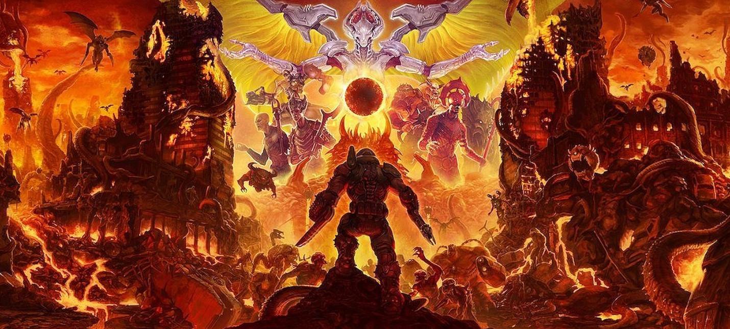 Doom Eternal перенесли на весну 2020 года