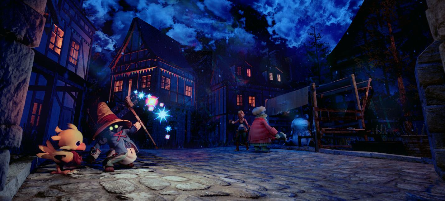 Художник представил, как мог выглядеть ремейк Final Fantasy 9 на Unity