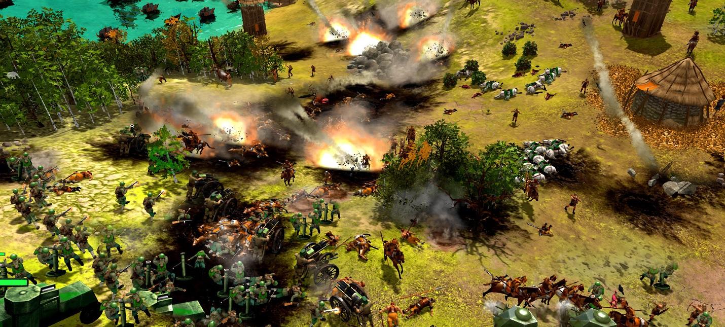 Развитие цивилизаций и королевская битва в релизном трейлере стратегии War Selection