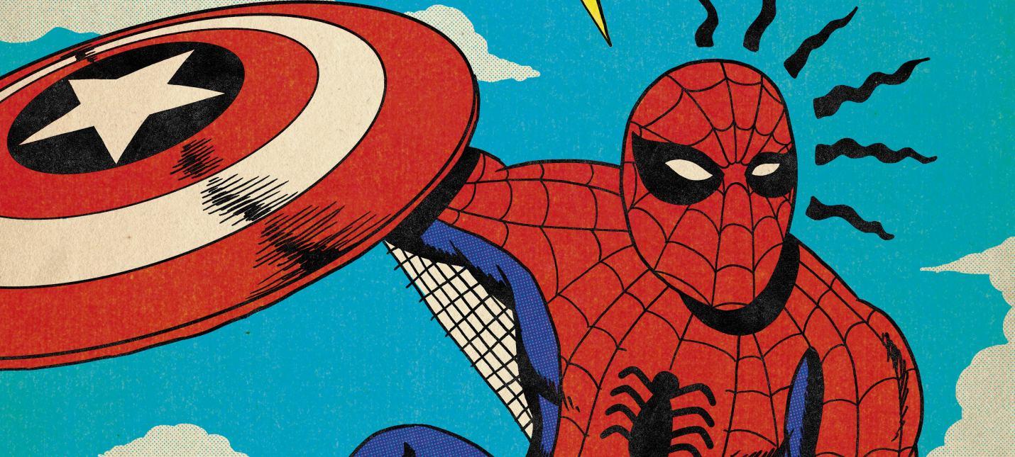 Фан-арт: сцены из фильмов Marvel в стилистике классических комиксов