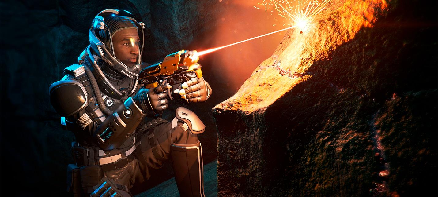 Обновление Star Citizen добавило в игру пещеры