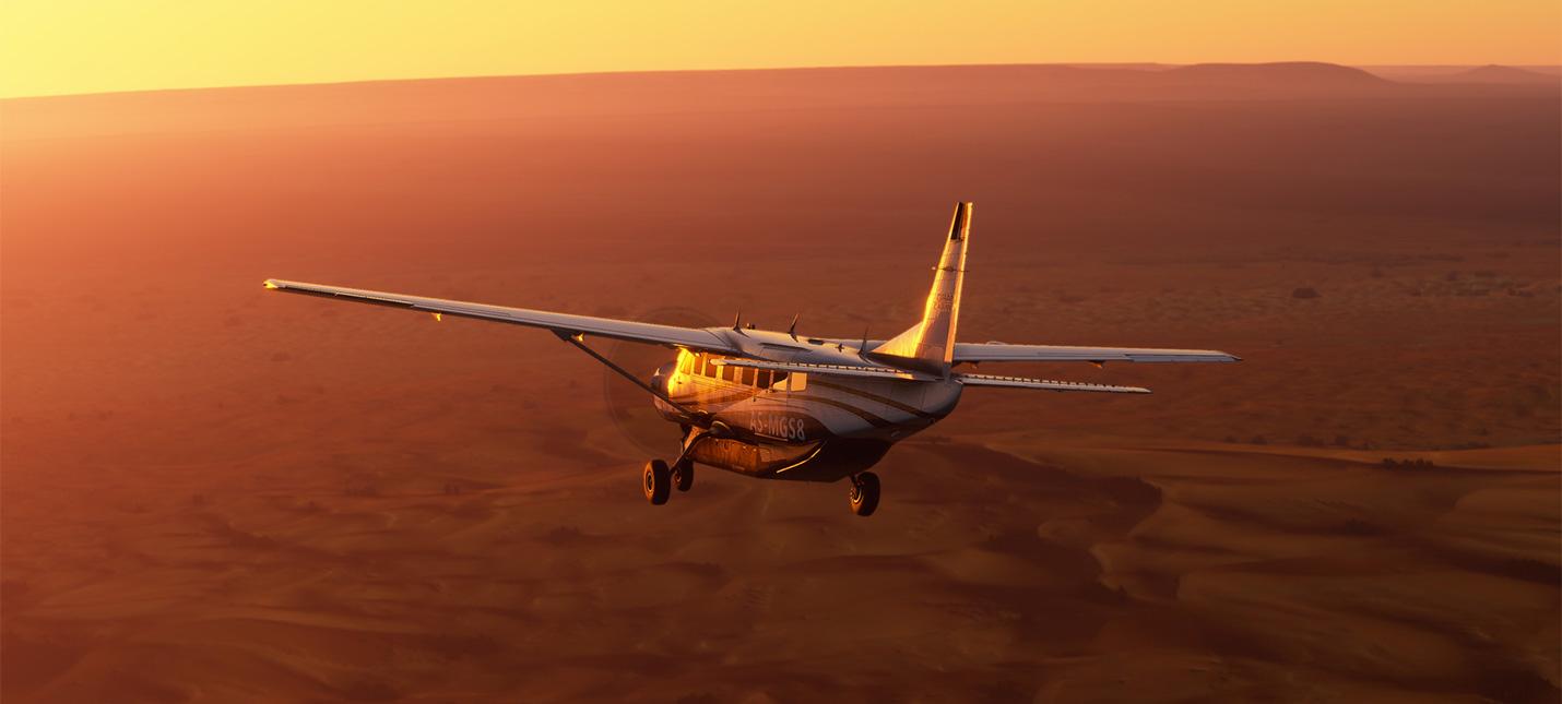 Microsoft Flight Simulator может получить поддержку VR благодаря отзывам игроков