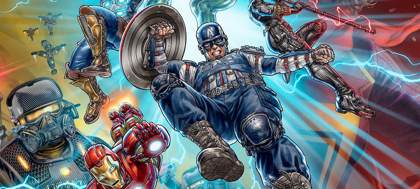 Общий сбор — новый арт Marvel's Avengers демонстрирует всю команду