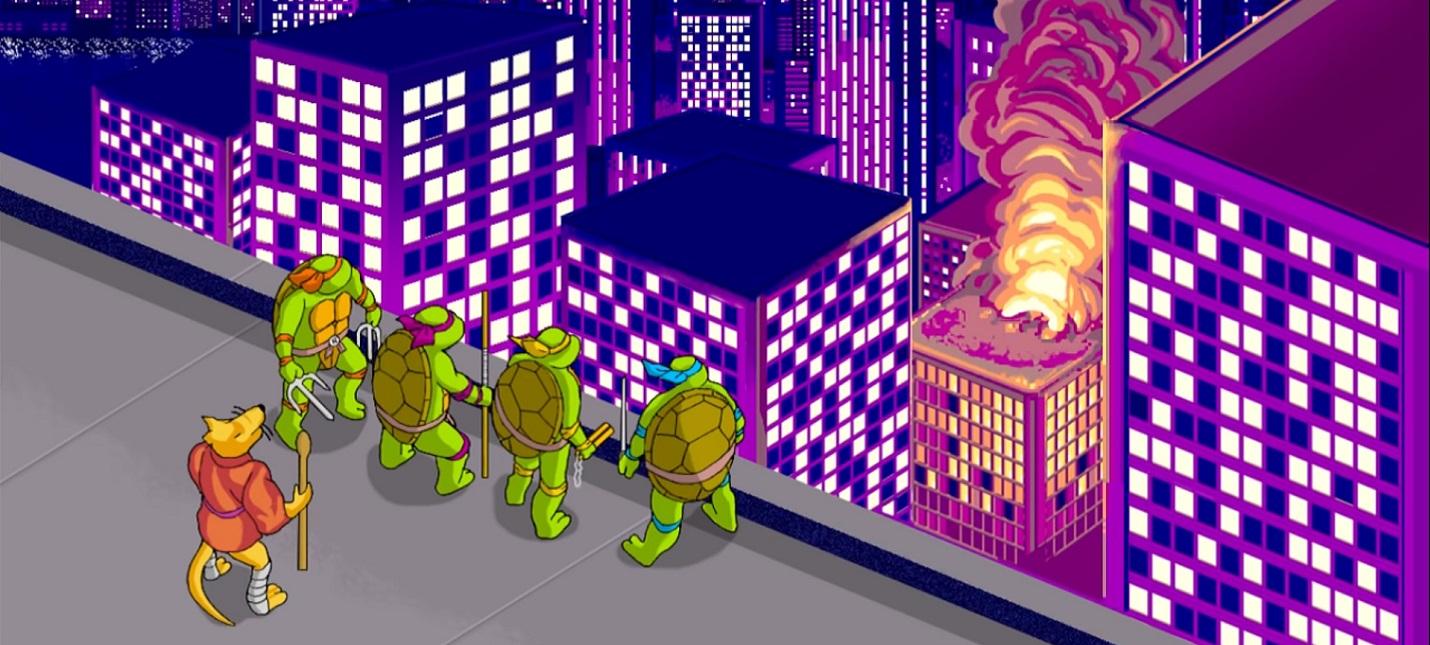 Энтузиаст создал ремастер классической Teenage Mutant Ninja Turtles