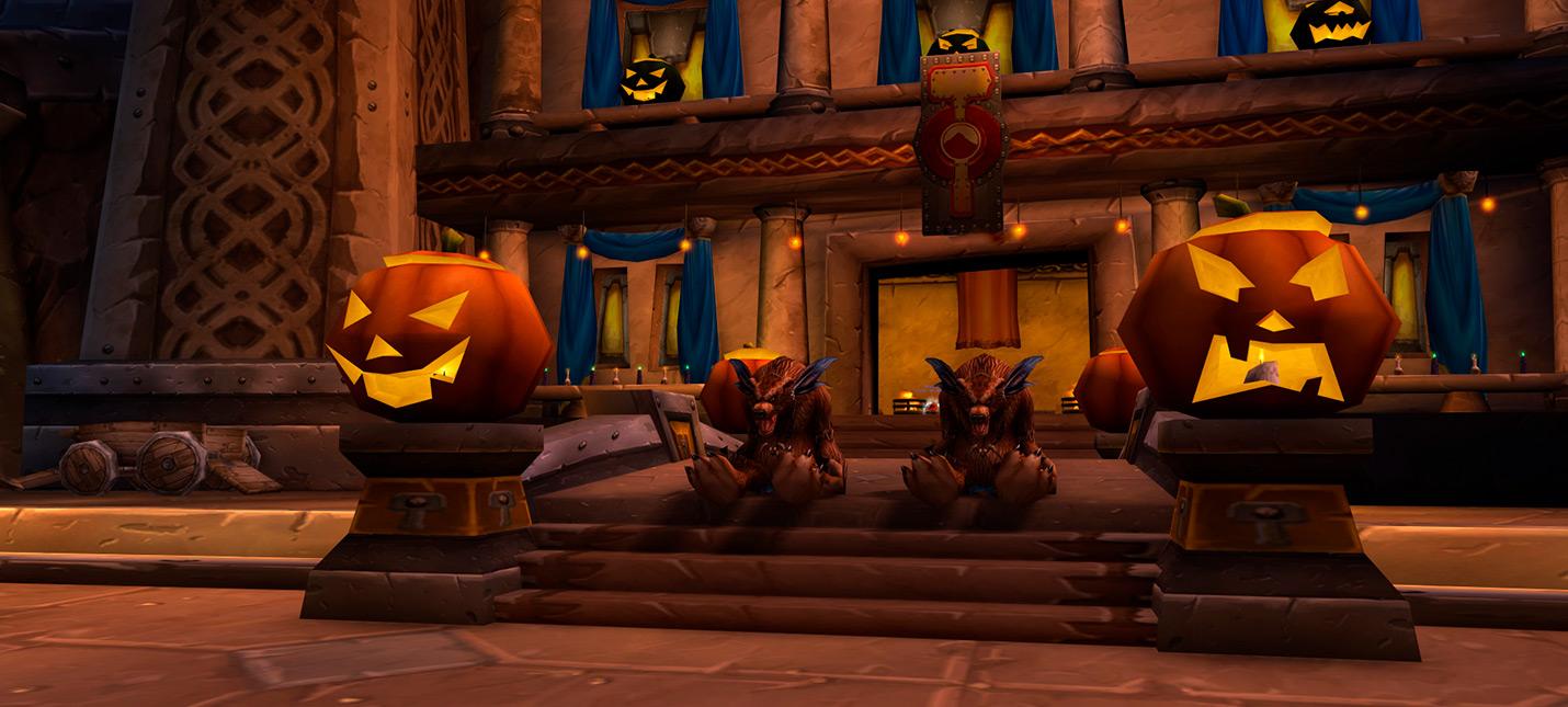 В World of Warcraft Classic тоже начались празднования Хэллоуина