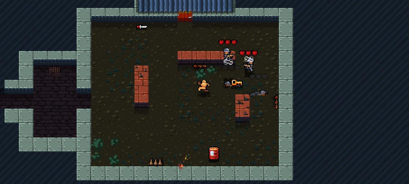 Sabotage — бесплатная фанатская игра про голого полковника, вдохновленная Metal Gear