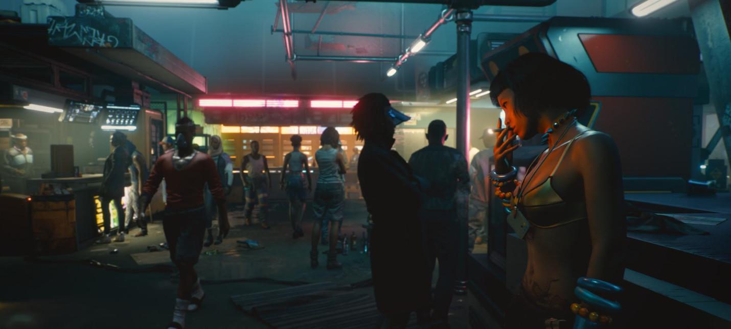 Утечка: Геймплей Cyberpunk 2077 с польской видеоигровой выставки