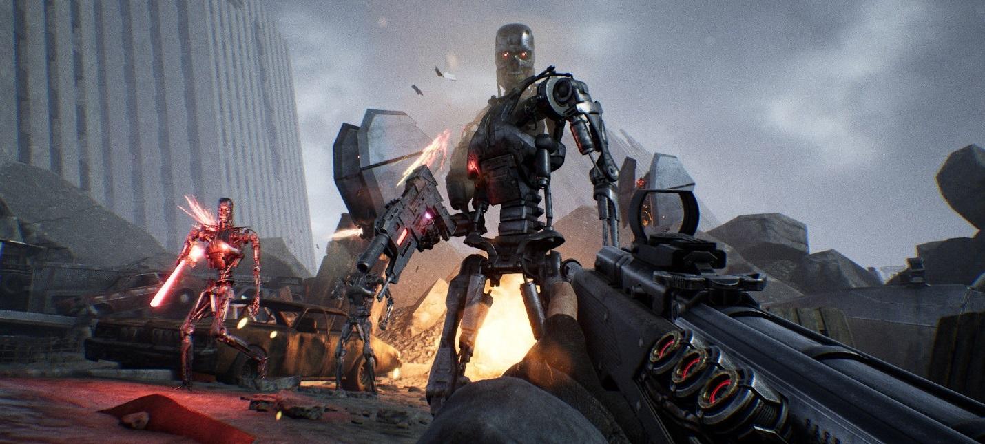 Опубликован геймплейный ролик Terminator: Resistance