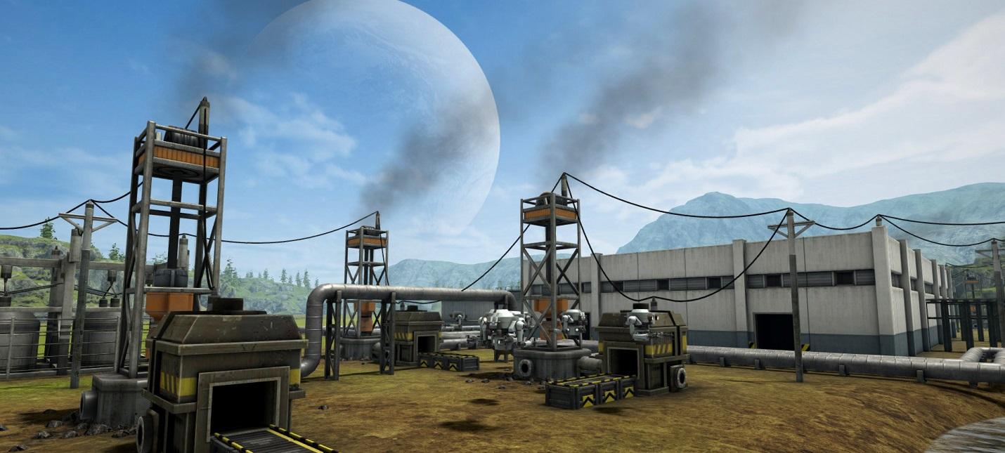 Строительство промышленной империи в первом трейлере стратегии Automation Empire