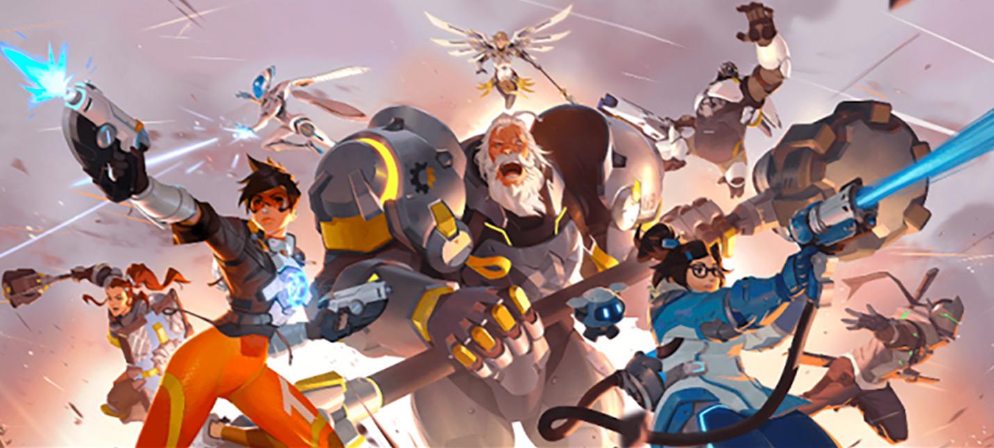 Официальный арт Overwatch 2 утек из магазина Blizzard