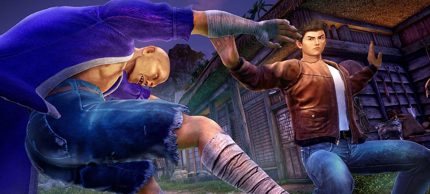 Новый трейлер Shenmue 3 посвящен системе боя и тренировкам