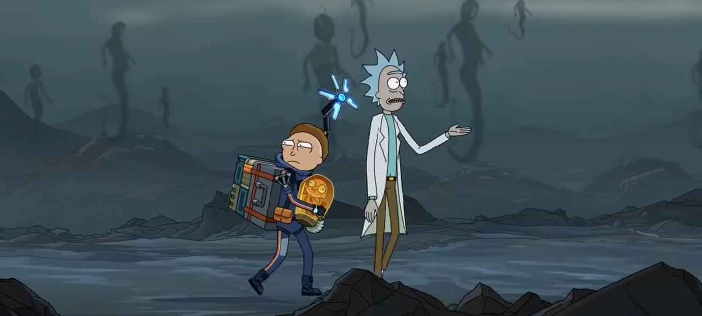 Реклама: Рик и Морти попали в Death Stranding